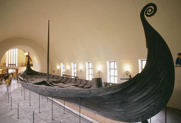 The Norsemen Oseberg-viking-ship